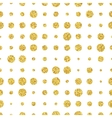 Retro colorful dot seamless pattern vector image
