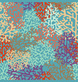 background with stylized corals vector image