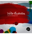 Colored paintbrush vector image
