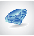 Diamondd vector image vector image