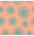 Bright floral seamless pattern with hand drawn vector image