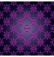Elegant seamless pattern on gray background vector image