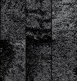 Grunge Overlay Textures vector image