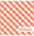 gingham red vector image
