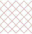 Red Grid White Diamond Background vector image