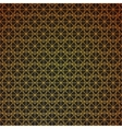 Gold geometric retro abstract seamless cube vector image