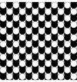 Black and white abstract pattern with circles vector image