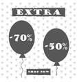 Sale banner graphic style vector image