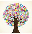 School education concept tree vector image