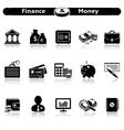 Finance Money Icons vector image