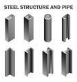 Steel structure vector image