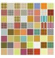 patterns mega set vector image
