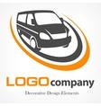 Van logotype vector image