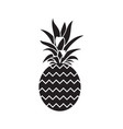 pineapple fruit image vector image vector image