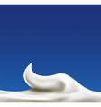 White abstract liquid background vector image