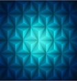 Blue Geometric abstract low-poly paper background vector image