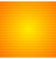 Orange abstract hexagonal texture background vector image