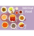 Turkish and balkan cuisine icon for food design vector image vector image
