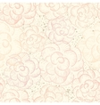 Abstract seamless flower texture vector image