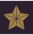 The star icon Best and favorite quality symbol vector image