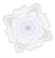 watermark rossete guilloche element vector image