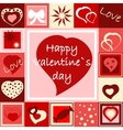 Seamless Valentines wallpaper vector image vector image