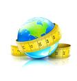 global diet concept vector image