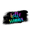 summer memphis background vector image