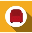 couch icon design vector image