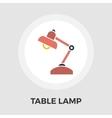 Reading-lamp flat icon vector image
