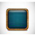 Blue app icon vector image