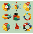 chart infographics vector image