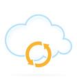 Cloud Computing Icon Conversion vector image