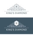 Kings Diamond Logo vector image vector image