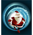 Magic Santa Claus vector image vector image