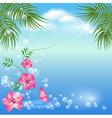 Marine landscape vector image