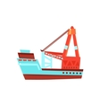 Cargo Ship Toy Boat vector image