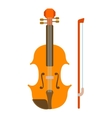 Contrabass icon flat style vector image