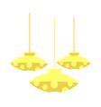 Three lighting vector image