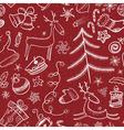 Christmas seamless vector image