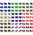 European Union Saudi Arabia Dominica India New vector image