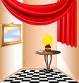 room fantasy vector image
