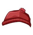 A red bonnet vector image
