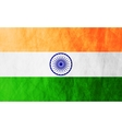 Republic of India grunge flag vector image vector image