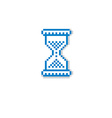 pixel icon isolated 8bit graphic element vector image