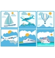 Travelling and Transport vector image