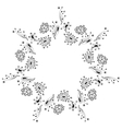 abstract ornament indian style vector image