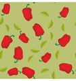 Red pepper seamless texture 604 vector image