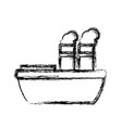 freigther boat ship vector image