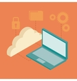 usefull for laptop isometric icons vector image